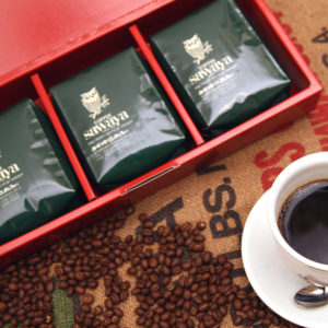 レギュラーコーヒー豆セット(箱入り)【ギフト限定ブレンド+レギュラーコーヒー各100gが全部で10種類・合計1kgセット】