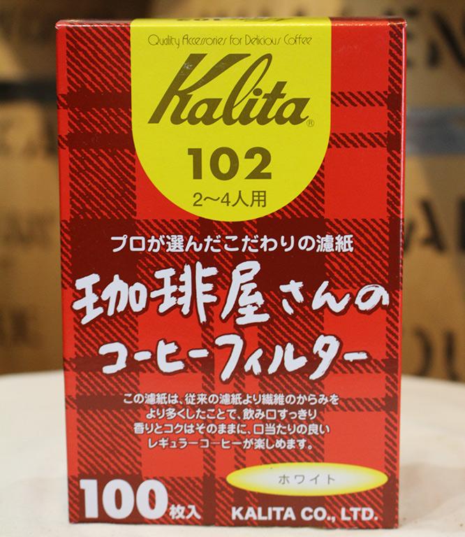 珈琲屋さんのコーヒーフィルター102 白