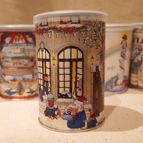 クリスマス・キャロル缶のイメージ